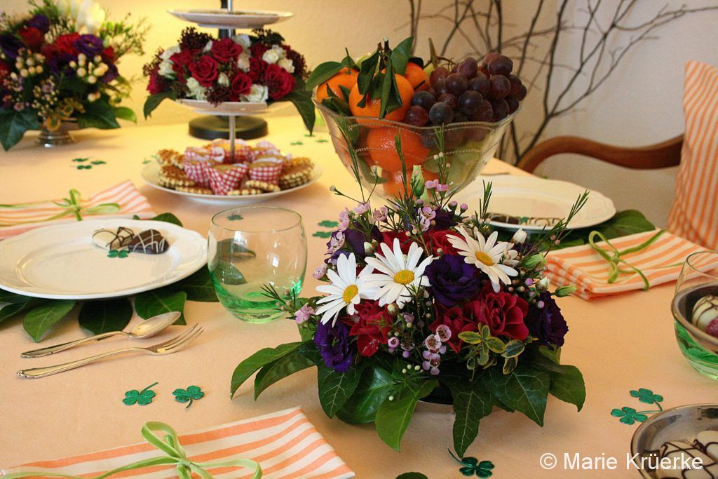 "Shooting ""Tisch des Monats Mai"""