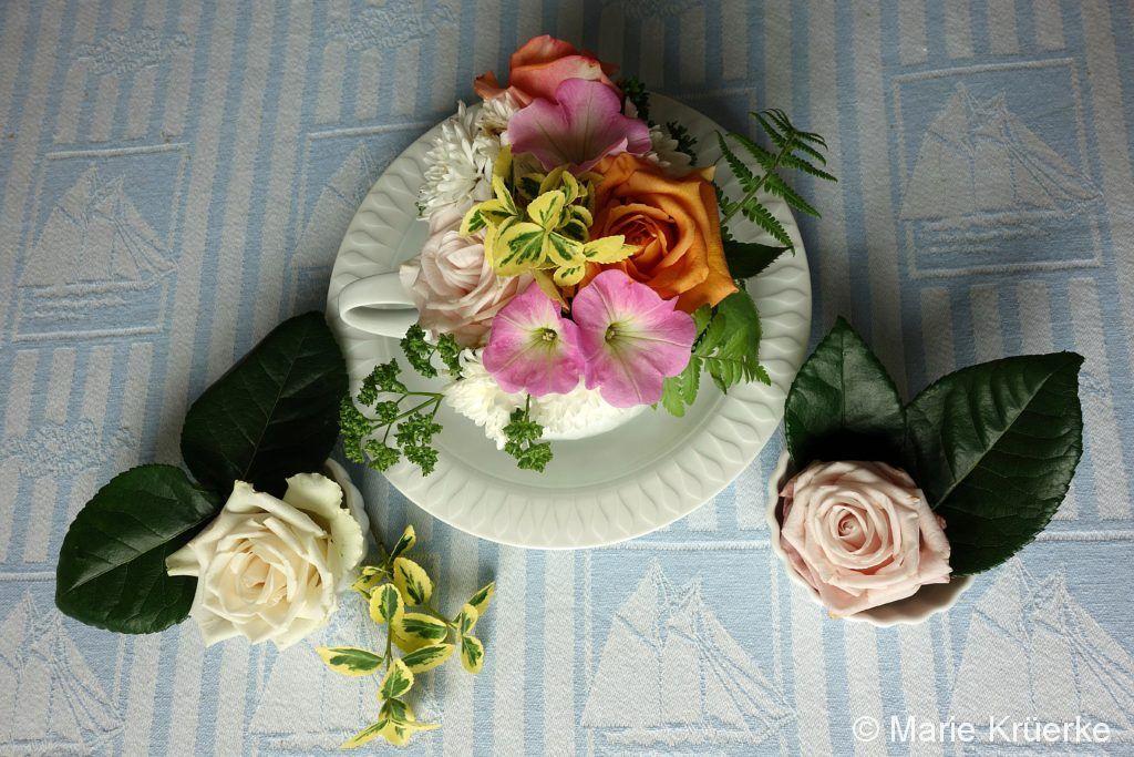 Blumen-Suppe