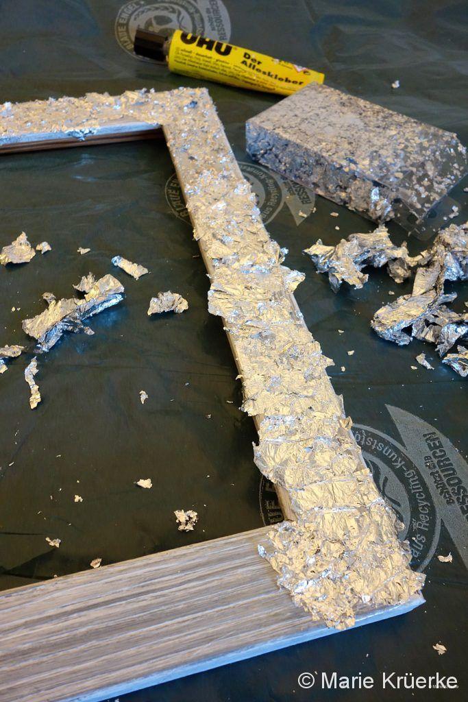 Rahmen silber gestalten