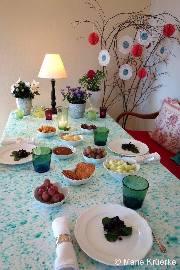 Tischdeko Nachmittag