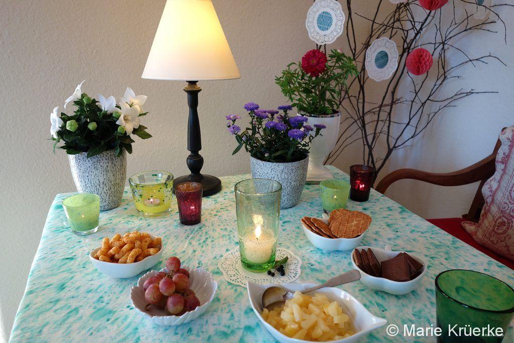 Blumen, Tischdeko